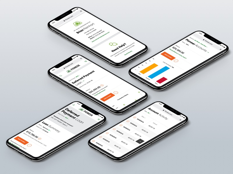 Pioneer Dashboard Templates Mobile By Randall Parrish