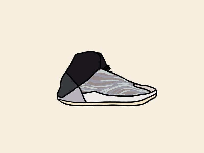 Quarantine Shoes #15 - Yeezy Quantum