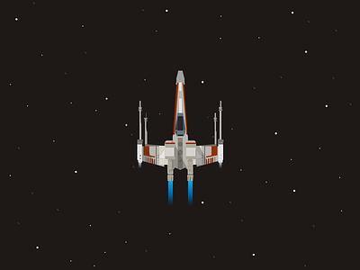 Star Wars Day 2016 jedi maythe4th wars star rocket ship space art illustration star wars