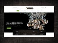Lider Frutas Website Header Preview