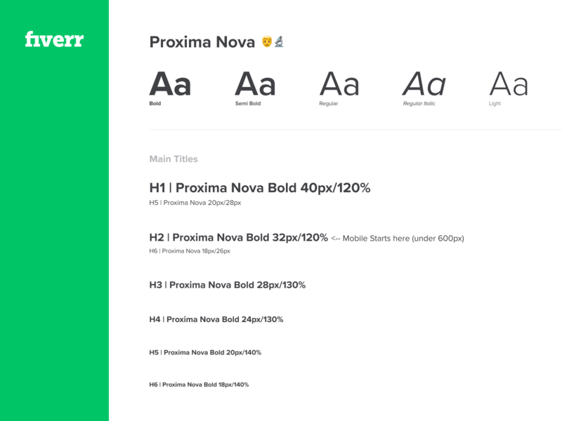 Fiverr Typography ui type art platform type design typedesign system typography typeface type