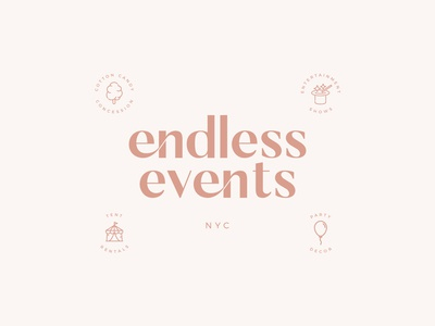 Endless Events Branding