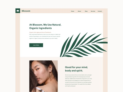 Blossom Organic Web
