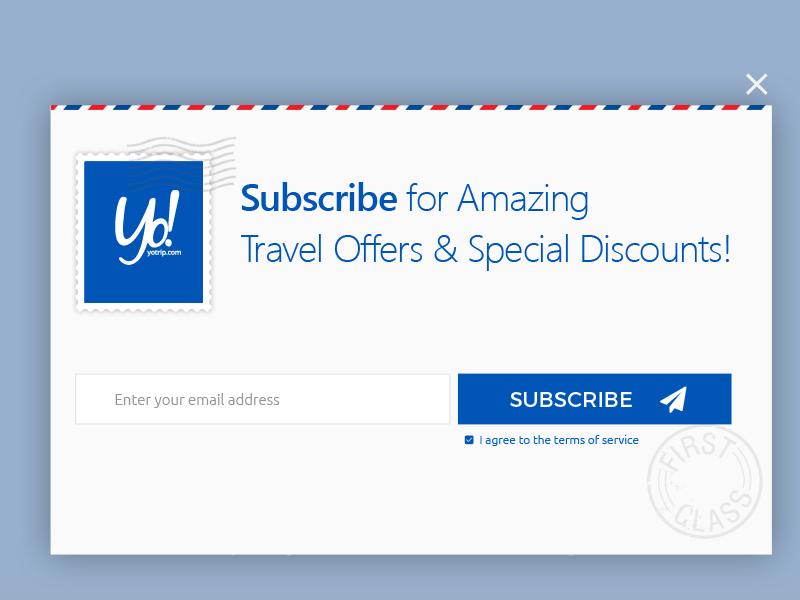 Modal Subscribe subscription modal