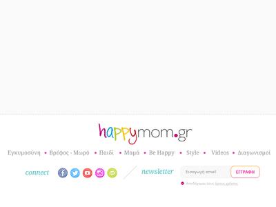 Parents Website Footer Proposition navigation colorful noto serif font