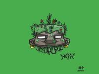inktober #4 'mossy'
