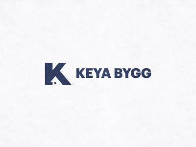 Keya logo mark icon corporate identity constructions carpentry