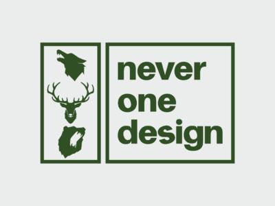 neverone design logo 2019
