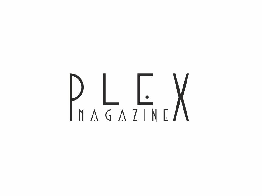 Plex Magazine logo monthly brand artist photography branding promotion houston usa writer photography painter art magazine logo