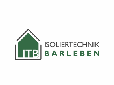 Isoliertechnik Barleben logo proof proofing geaschafts technology contest grey gray frost fire water sound green house branding insulation logo germany german isoliertechnik
