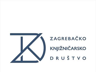 "Logo suggestion 01, ""Monogram"", for a contest simple modern branding croatia library book zagreb monogram brand logo"