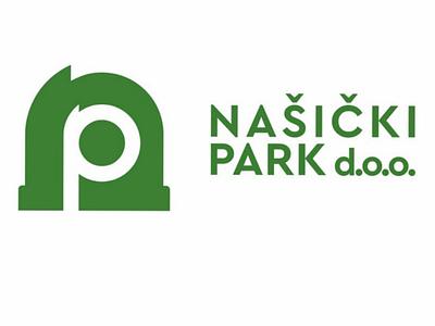 Branding and identity  for Nasicki park grafiker entwurf ontwerp grafisk graphique minimal modern monogram negativespace services municipal croatia urban mockup logo slavonia nasice identity branding design
