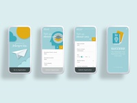 UX/UI Mobile Visa Application redesign