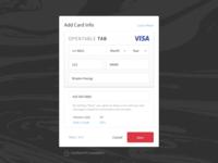 Tab Web Registration