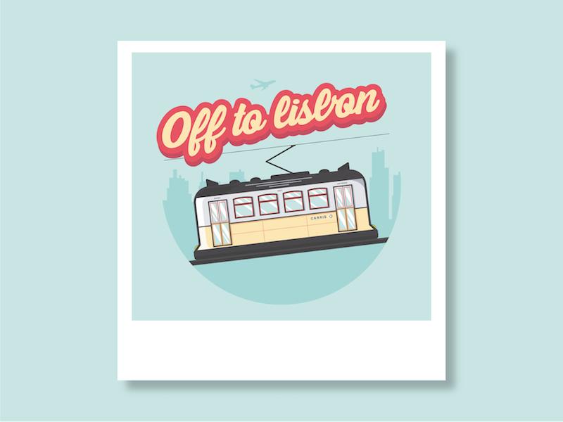 Off to Lisbon! illustrator voyage illustration lisbon