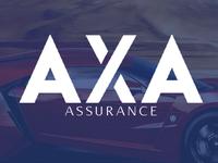 AXA logo redesign