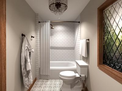 Modern Victorian Bathroom Remodel