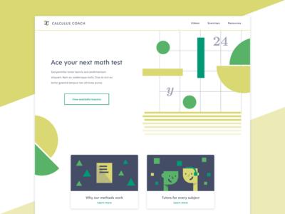Math Tutor Website