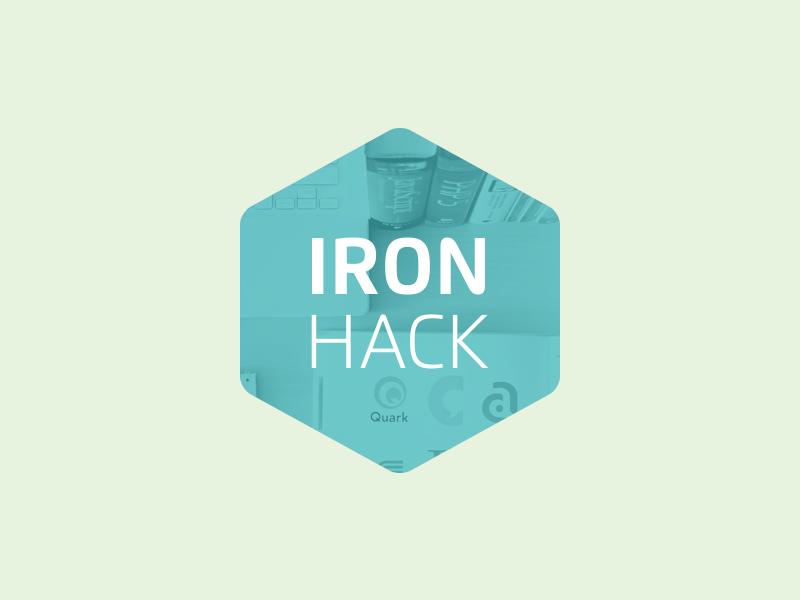 Ironhack Logo logo hexagon education online classes