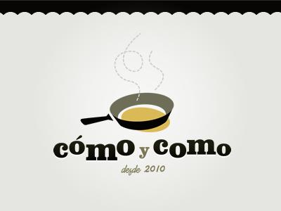 Cómo y como food recipes web logo