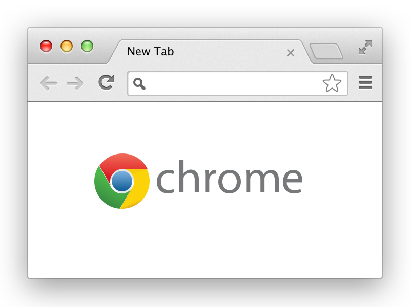 Chrome Browser for Sketch vector browser chrome sketch template