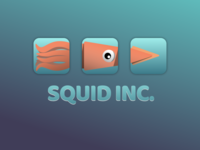 Squid Inc App Icons - Daily UI Challenge 05