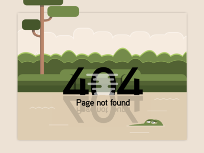 404 Page - Daily UI Challenge 08