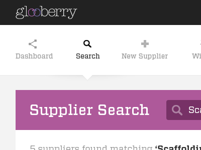 Glooberry search 1170