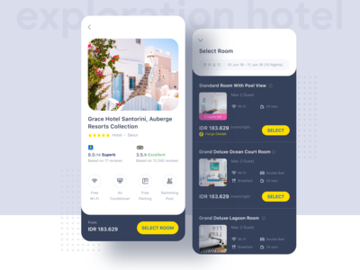 Hotel App Exploration ⠿ tiket.com