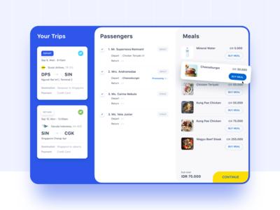 Meal Flights Desktop ⠿ Work Diary