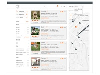 Woof - Website for Professional Dog walkers