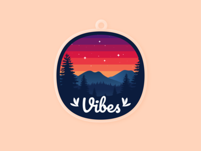 For the vibes in my hometown charms sky vibes mountains