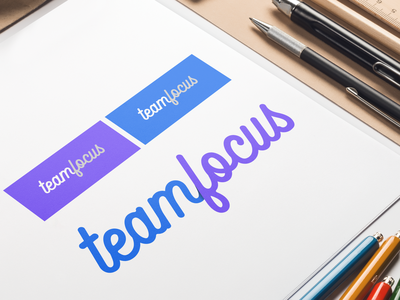 Logo 'Teamfocus' branding logo