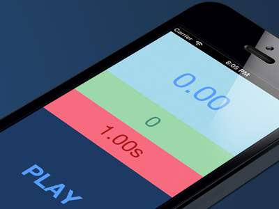 Second Stop for iOS ios iphone app flat clean colors color colours game ipad pink green blue debut first