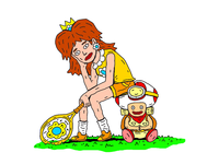 Daisy And Captain Toad Wait For Their Smash Debut