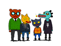 Night In The Woods Crew