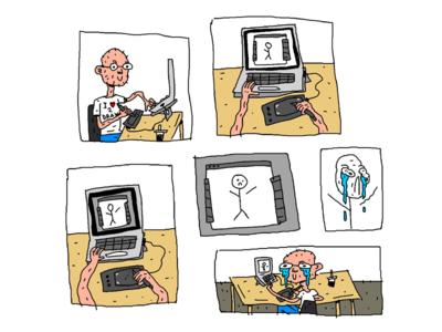 Bad Drawing Day Comic cartoonist baddrawing bad drawing cartoonpanel cartoon comicart comic