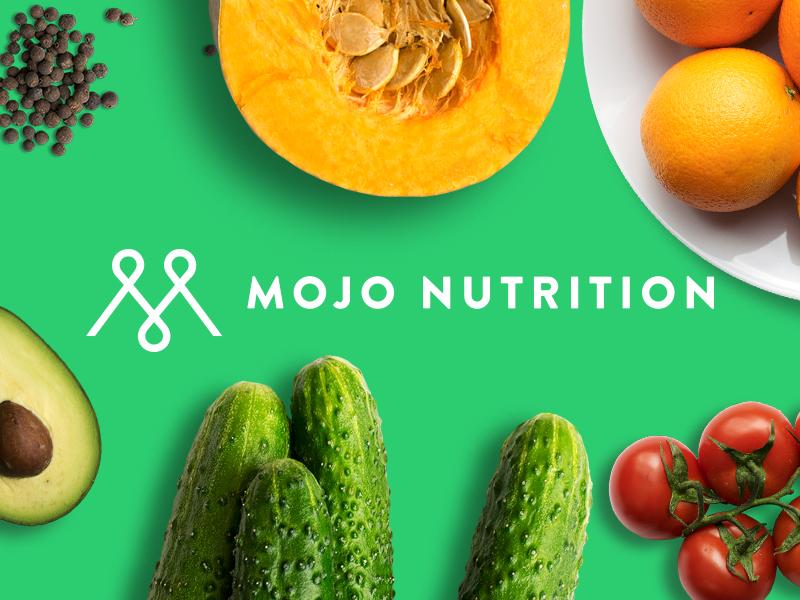 MOJO Nutrition - Logo'19 food and drink food and beverage soylent health mojonutrition food typography design branding logo
