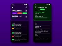 Crypto Wallet UI