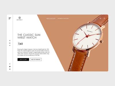 Brathwait website redesign