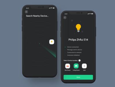 Add Device Smart Home Mobile App