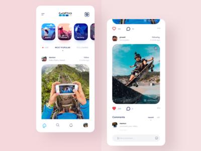 GoPro Social app