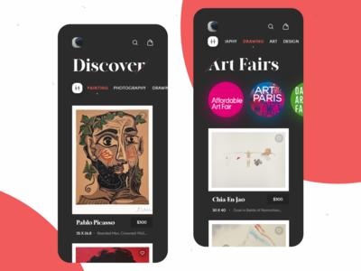 Buy & Sell Original Art App