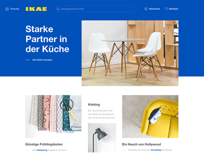 Ikea Website Redesign blue website redesign ikea