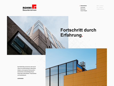 Crafter Webdesign flat craftsman webdesign website