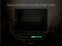 Ghost Trax Landing Page