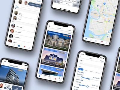 Real Estate App Showcase