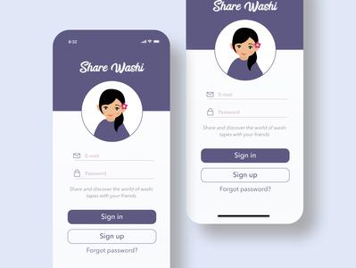 Sharewashi App