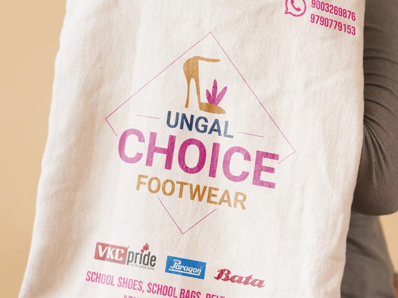 Reusable Bag illustration inspiration icon vibrant colors logodesign brand identity bag