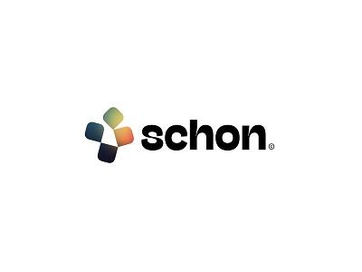Schon Logo fix with Christos Gradient. graphic design identity gradient logo